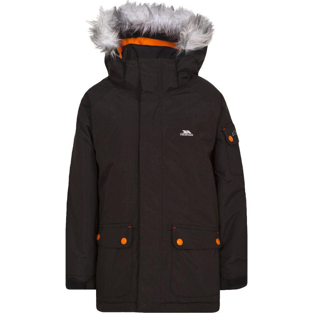 Trespass Boys Holsey Waterproof Windproof Padded Shell Jacket