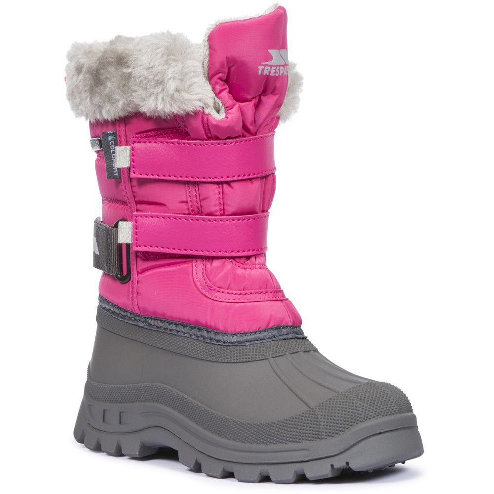 Trespass Girls Stroma II Insulated Fleece Lined Winter Snow Boots