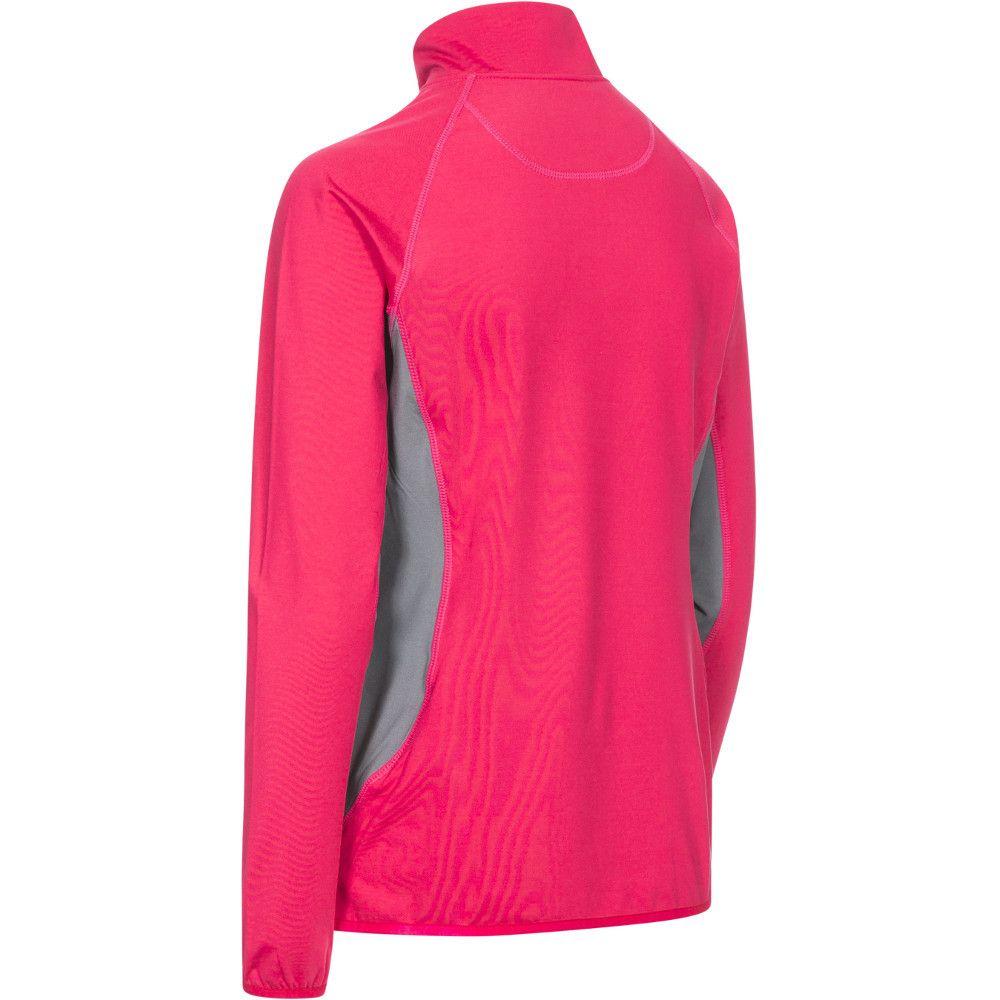 Trespass Womens/Ladies Frey Knitted Half Zip Long Sleeved DLX Top