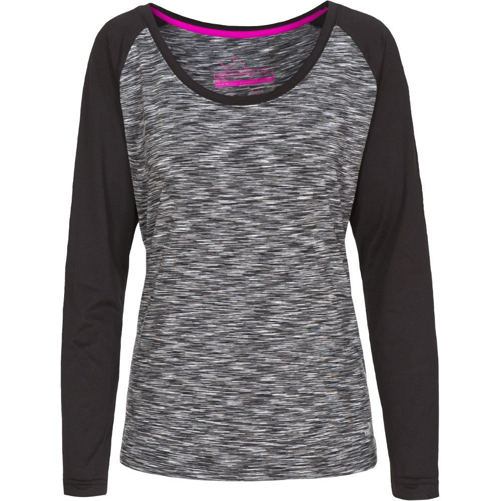 Trespass Womens/Ladies Miso Knitted Long Sleeved Quick Dry Active Top