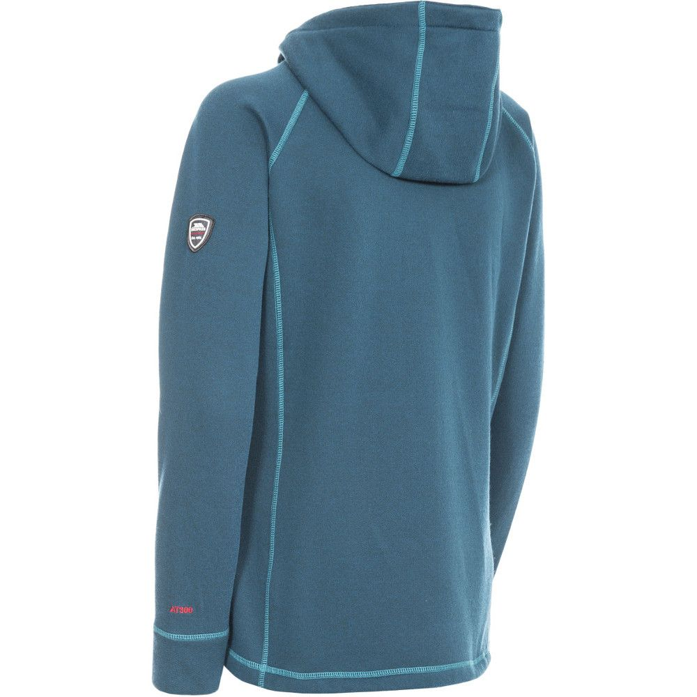 Trespass Womens/Ladies Whirlwind Hooded Knitted Marl Fleece Jacket