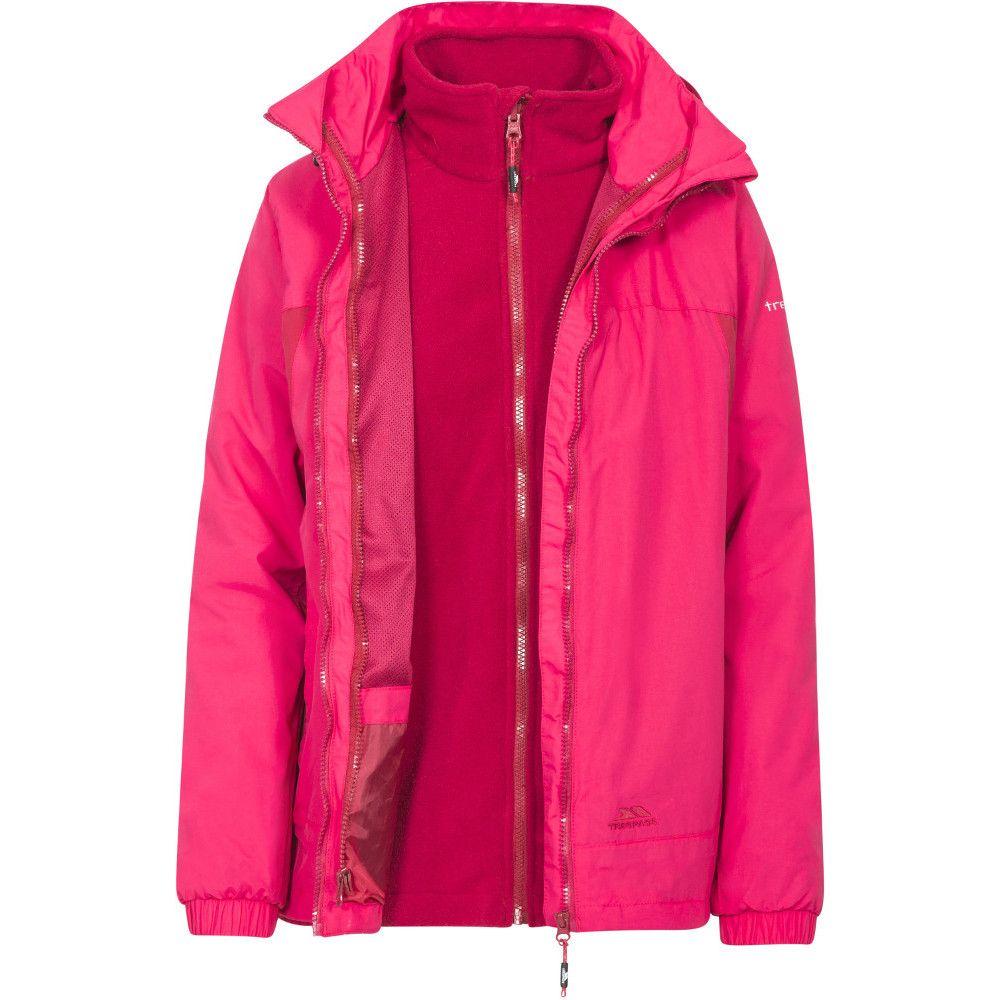 Trespass Womens/Ladies Rewarding Waterproof Breathable 3 In 1 Jacket