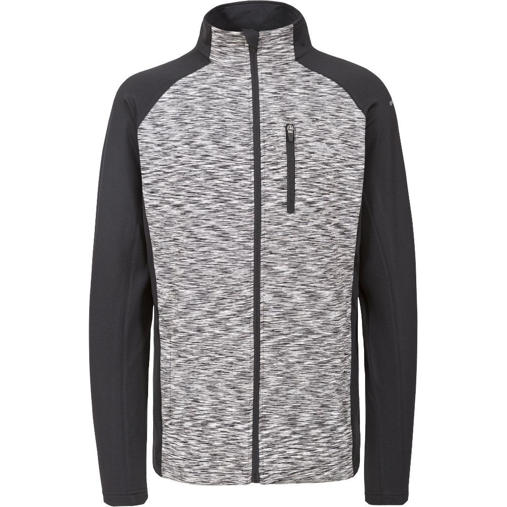 Trespass Mens Ferris Knitted Full Zip Wicking Quick Dry Sweater Jumper