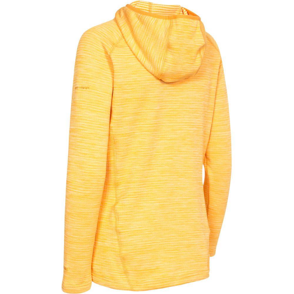 Trespass Womens/Ladies Romina Hooded Half Zip Fleece Sweatshirts Top