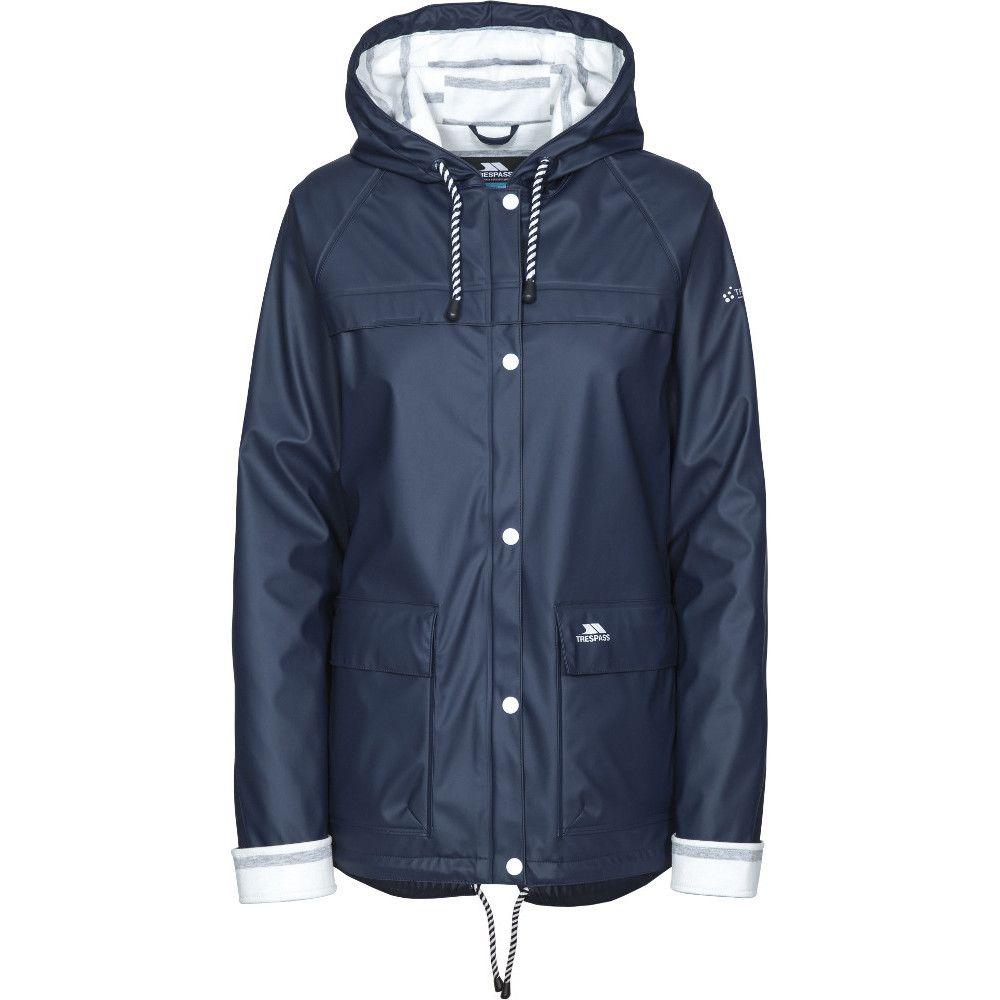 Trespass Womens/Ladies Muddle Hooded Waterproof Walking Jacket Coat