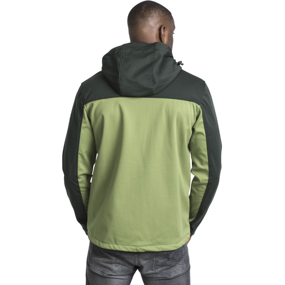 Trespass Mens Palin Zip Wicking Waterproof Windproof Softshell Jacket
