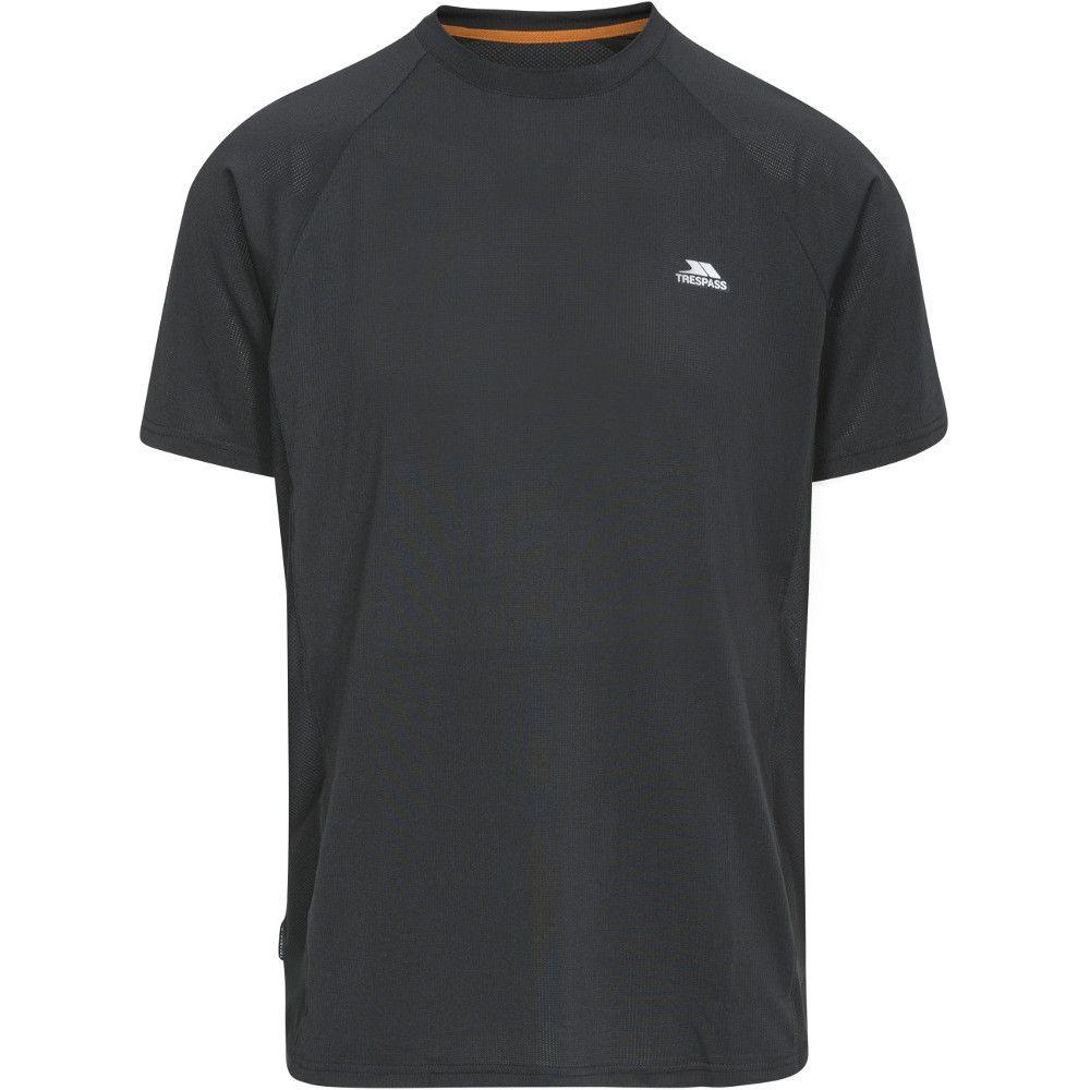 Trespass Mens Cacama Short Sleeve Wicking Fitness Running T-Shirt