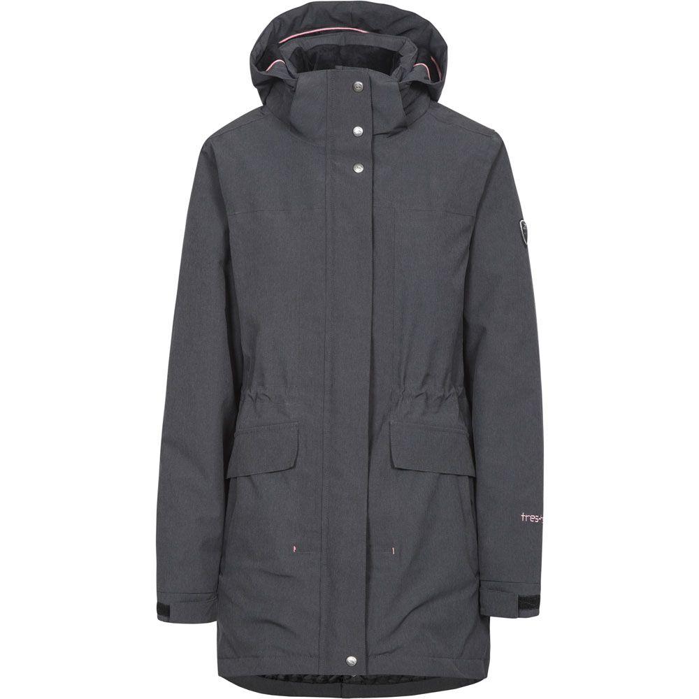 Trespass Womens/Ladies Reveal Waterproof Breathable Hooded Jacket Coat