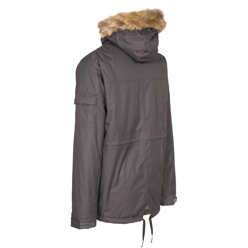 Trespass Mens Mount Bear Waterproof Windproof Padded Insulated Jacket