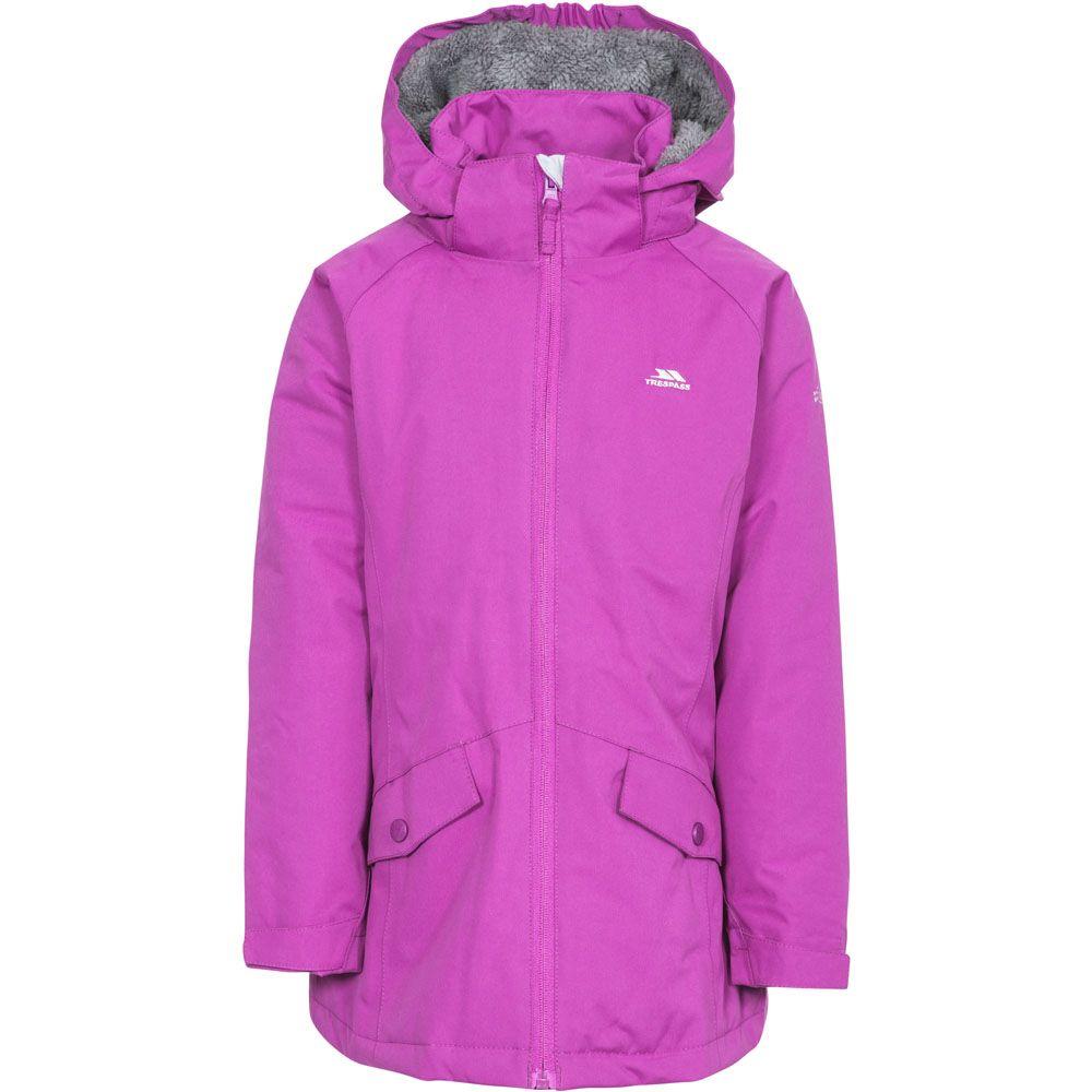 Trespass Girls Moonstar Waterproof Windproof Insulated Jacket Coat