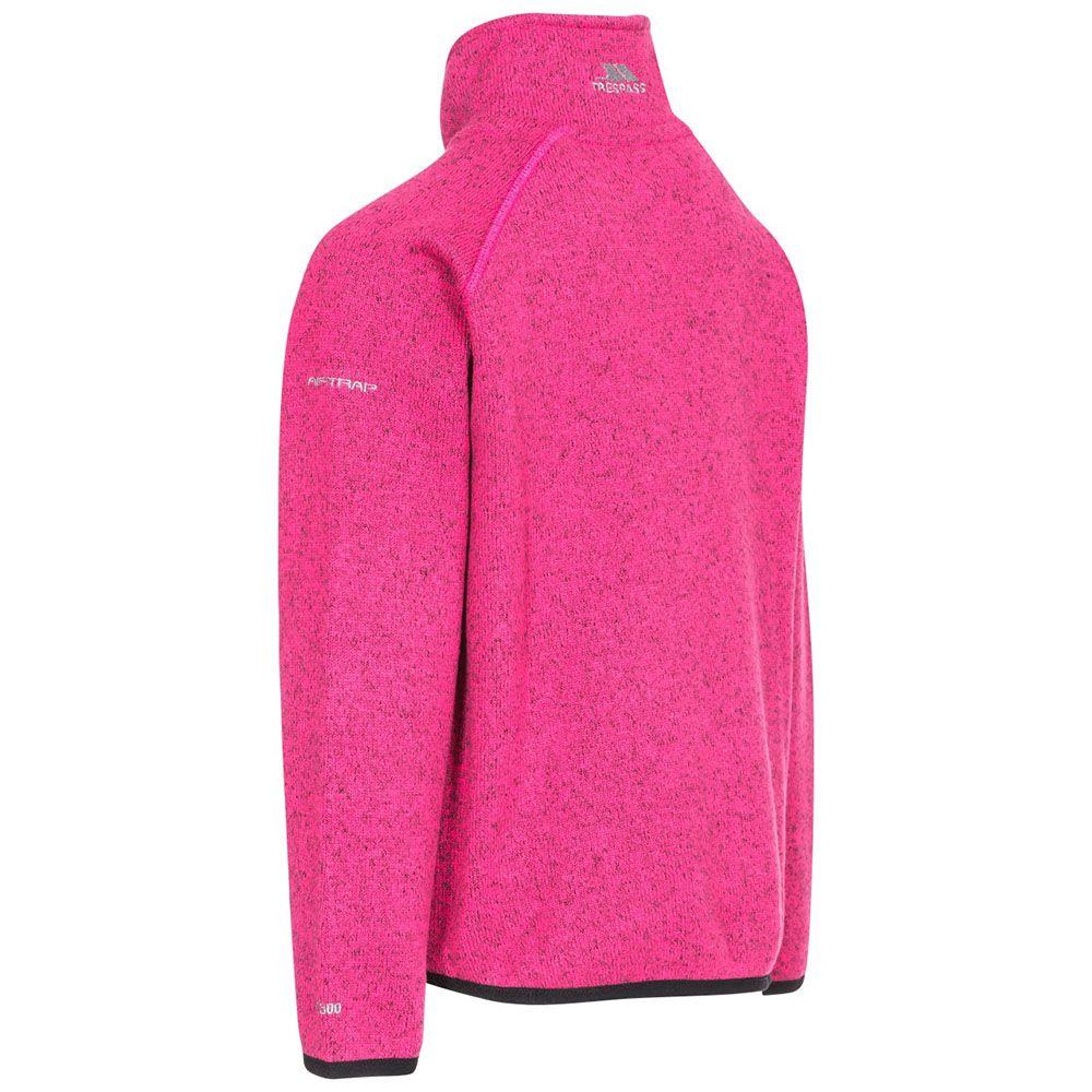 Trespass Girls Rilla Full Zip Warm Polyester Fleece Jacket Coat