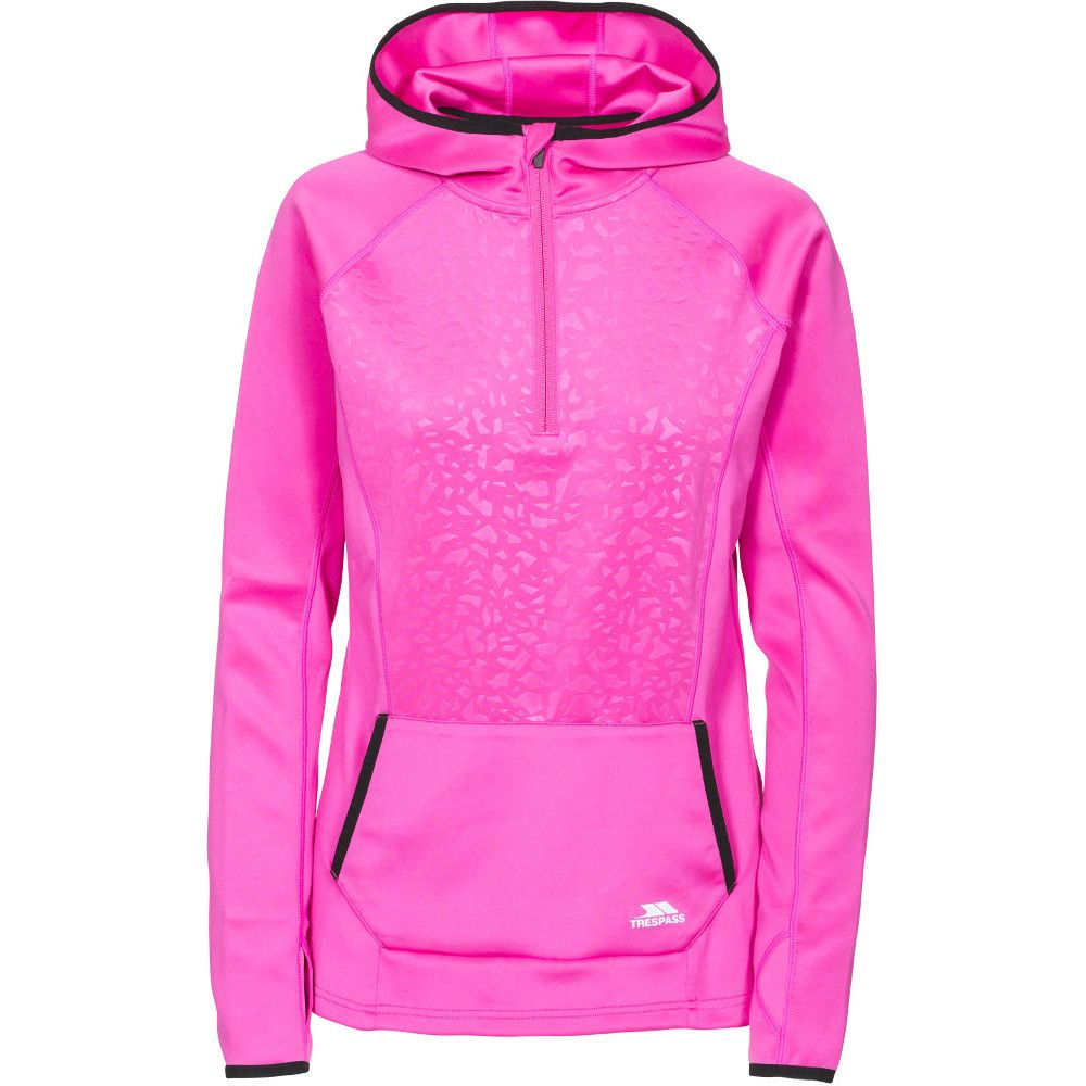 Trespass Womens/Ladies Lalita Quick Drying Half Zip Running Coat