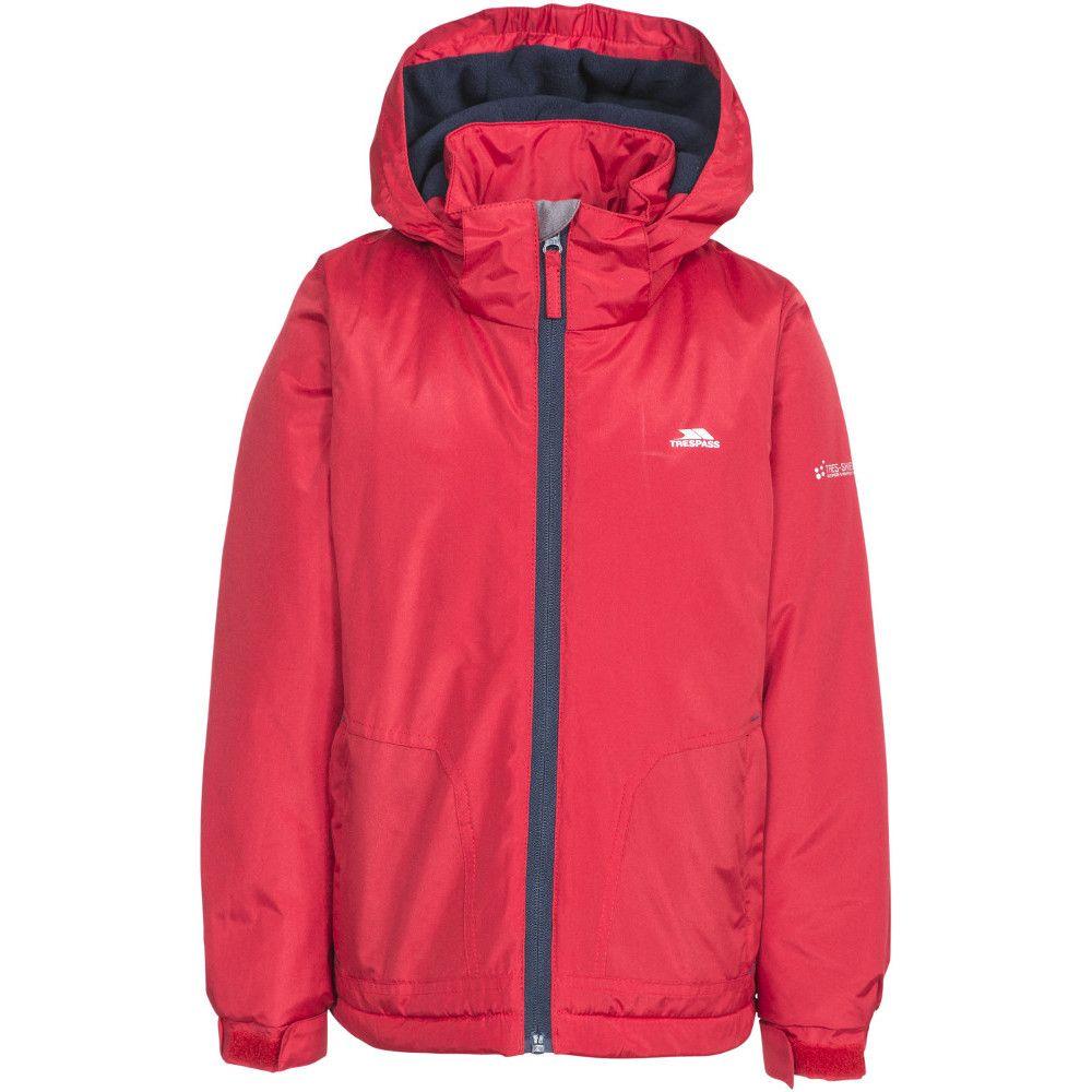 Trespass Boys Rudi Waterproof Hooded Walking Jacket Coat