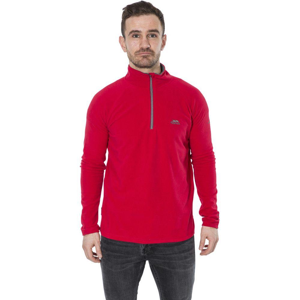Trespass Mens Blackford Half Zip Anti Pill Fleece Jacket