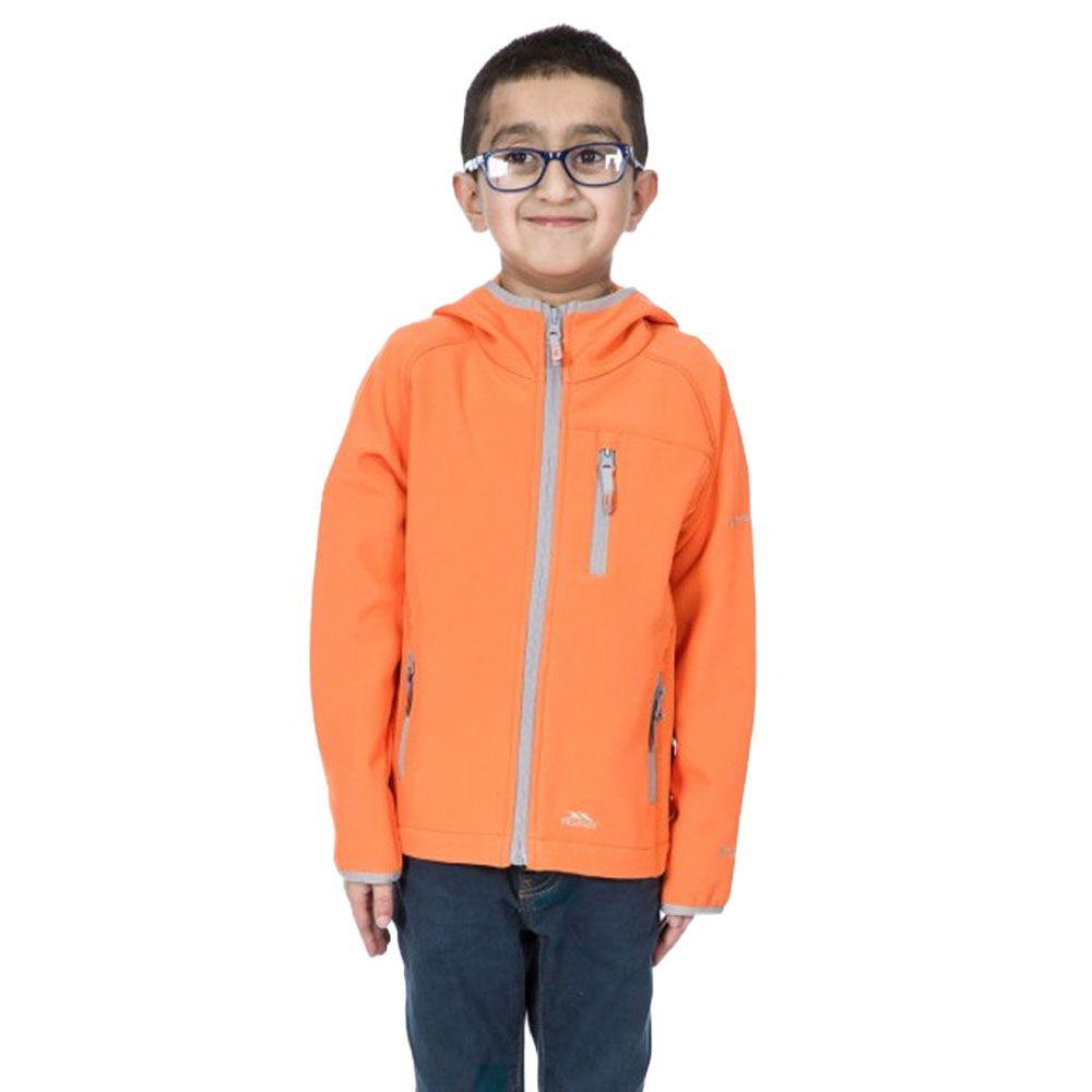 Trespass Boys Kian Softshell Zip Up Lightweight Jacket