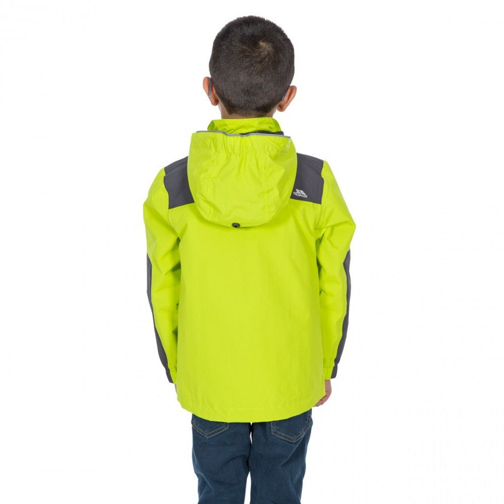 Trespass Boys Farpost TP50 Waterproof Windproof Jacket