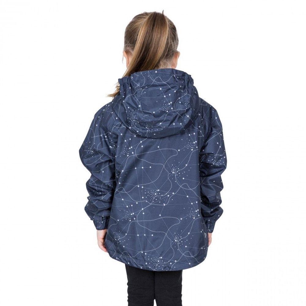 Trespass Girls Vilma TP50 Waterproof Polyester Zip Up Jacket