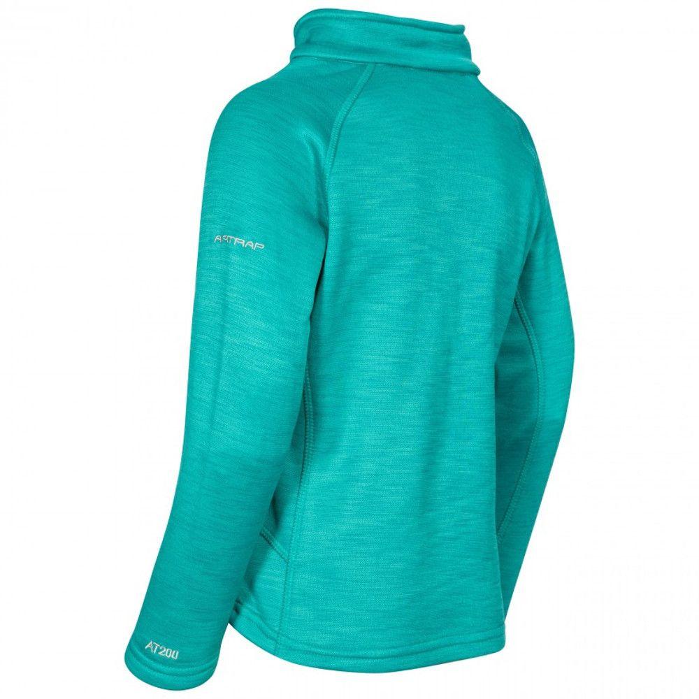 Trespass Girls Celina Supersoft Half Zip Fleece Jacket Top