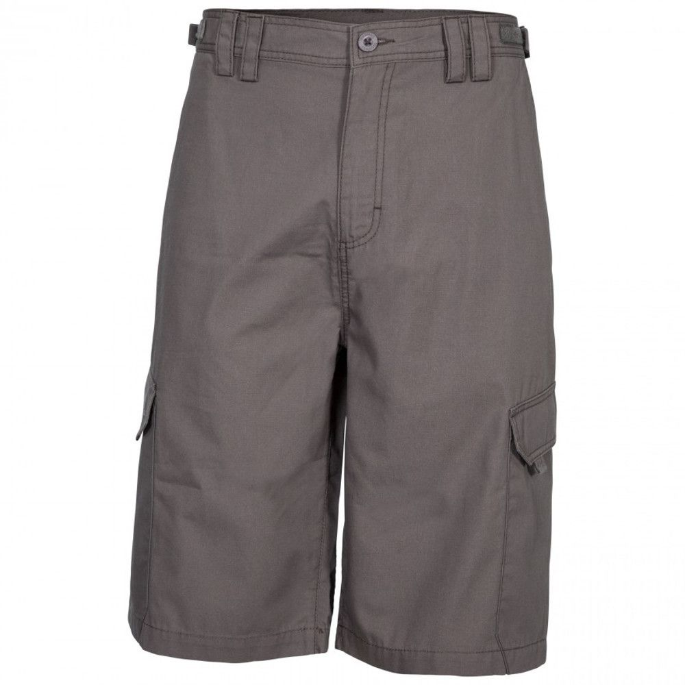Trespass Mens Regulate Quick Dry Cargo Walking Shorts