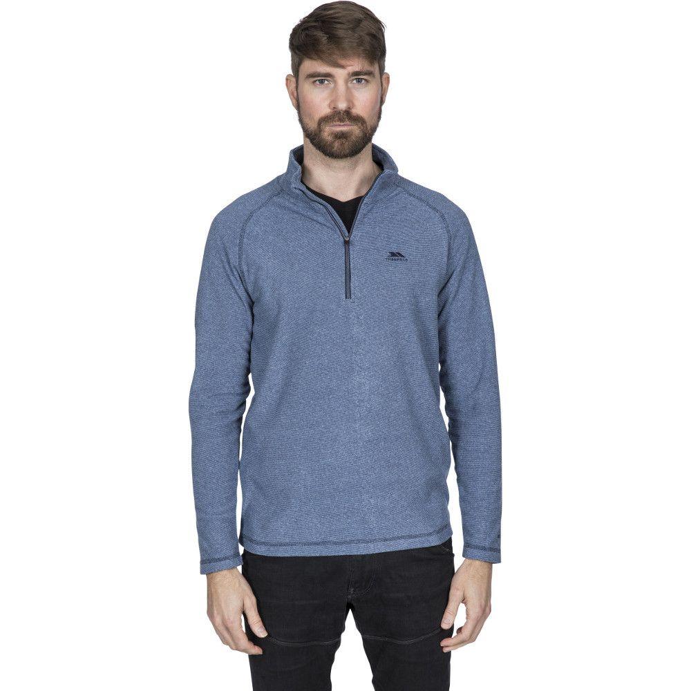Trespass Mens Keynote Lightweight Half Zip Fleece Top