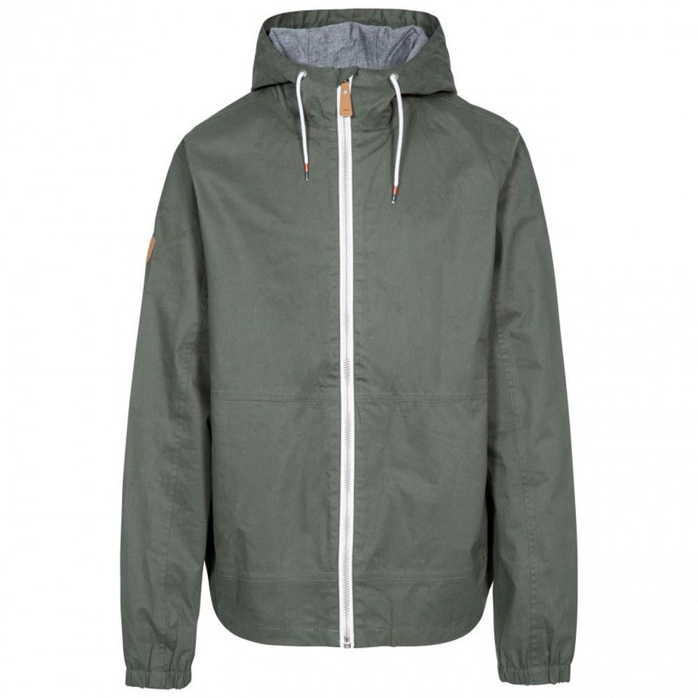 Trespass Mens Dalewood Waterproof Windproof Zip Up Jacket