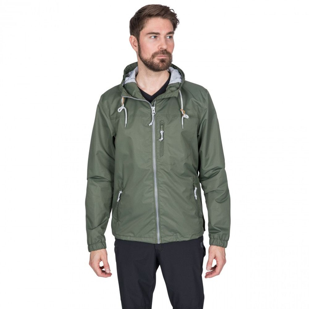 Trespass Mens Anchorage Waterproof Windproof Hooded Jacket