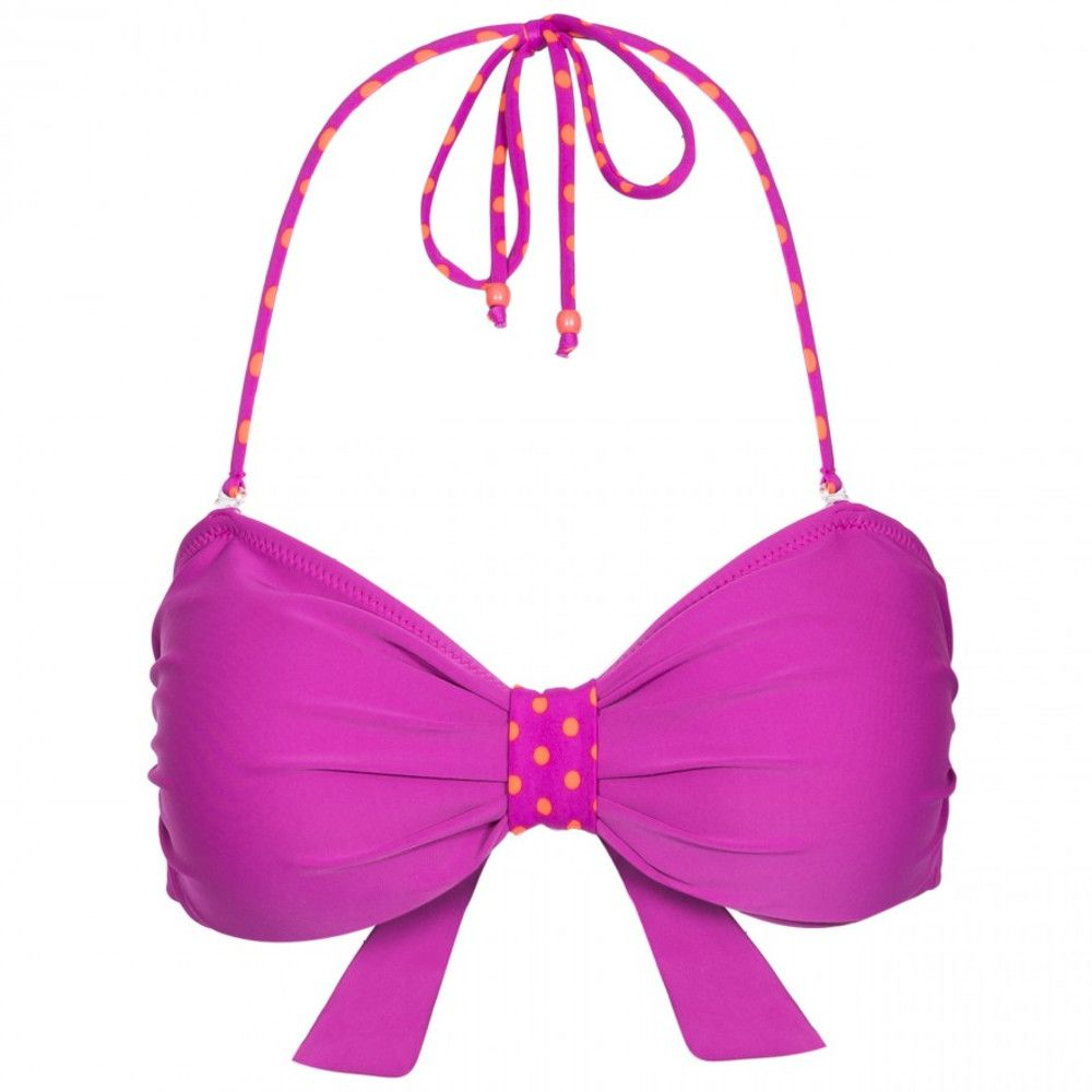 Trespass Womens Aubrey Tie Back Summer Bandeau Bikini Top