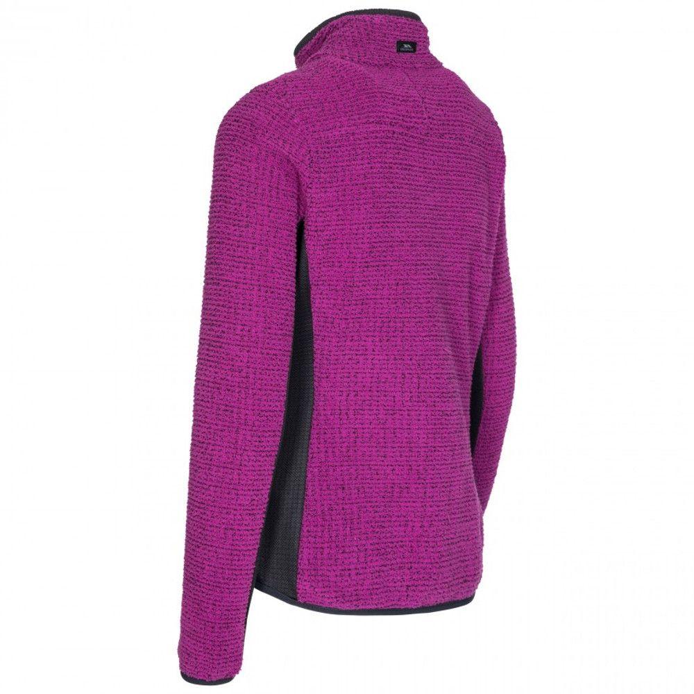 Trespass Womens Liggins Full Zip Airtrap Fleece Jacket