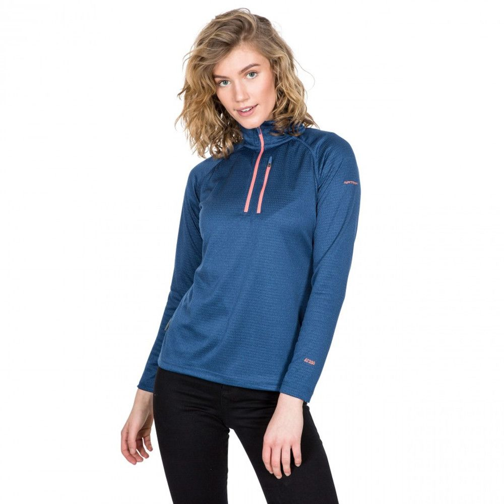 Trespass Womens Lopez AT200 Half Zip Fleece Jacket