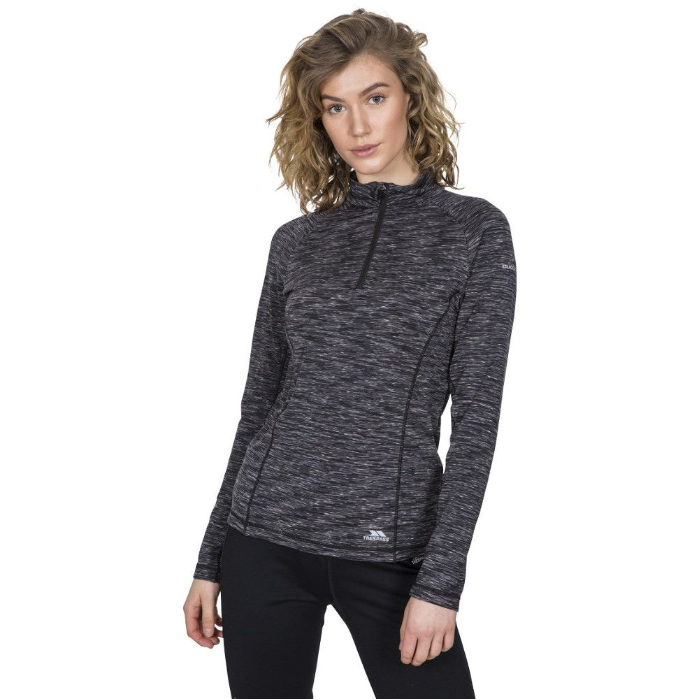 Trespass Womens Edith Active Quick Drying Long Sleeve Top