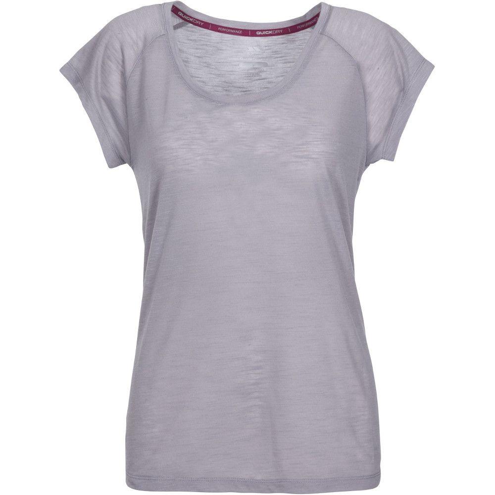 Trespass Womens Newby Short Sleeve Quick Drying Active Top