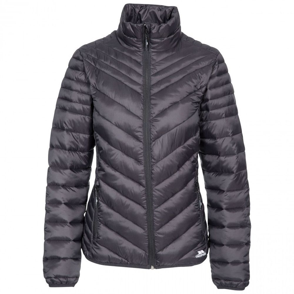 Trespass Womens Simara Padded Down Touch Warm Quilted Coat