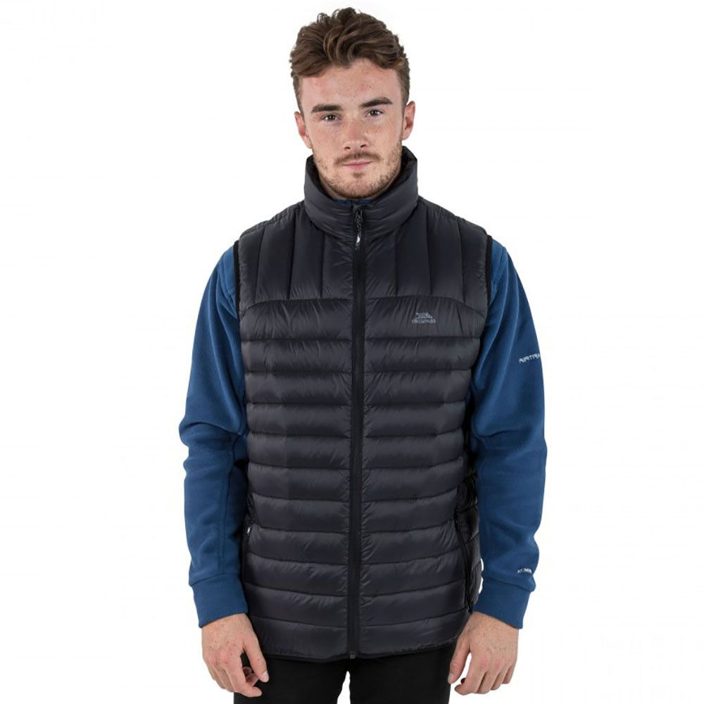 Trespass Mens Hoppers Ultra Lightweight Down Padded Gilet