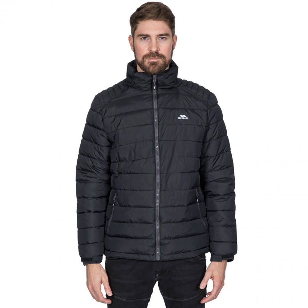 Trespass Mens Darrell Padded Warm Adjustable Casual Jacket