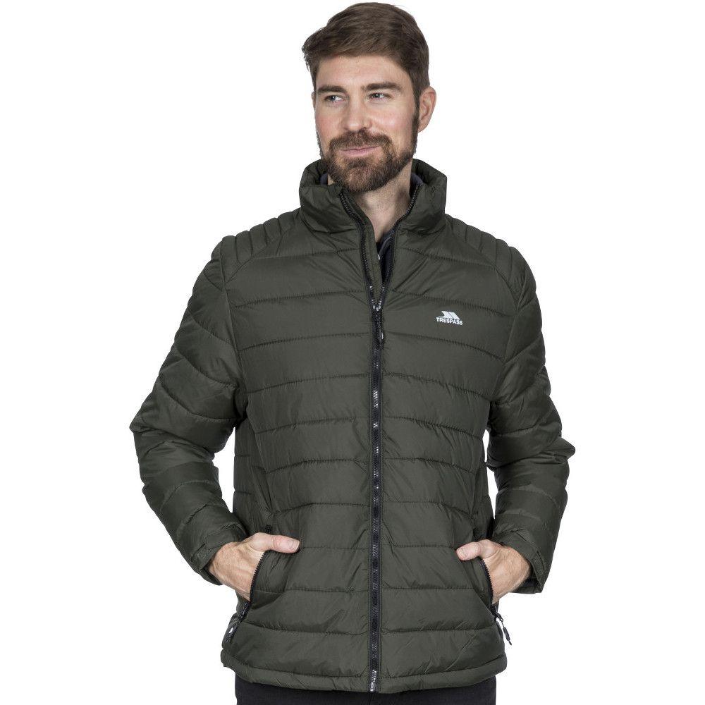 Trespass Mens Darrell Padded Warm Adjustable Casual Jacket