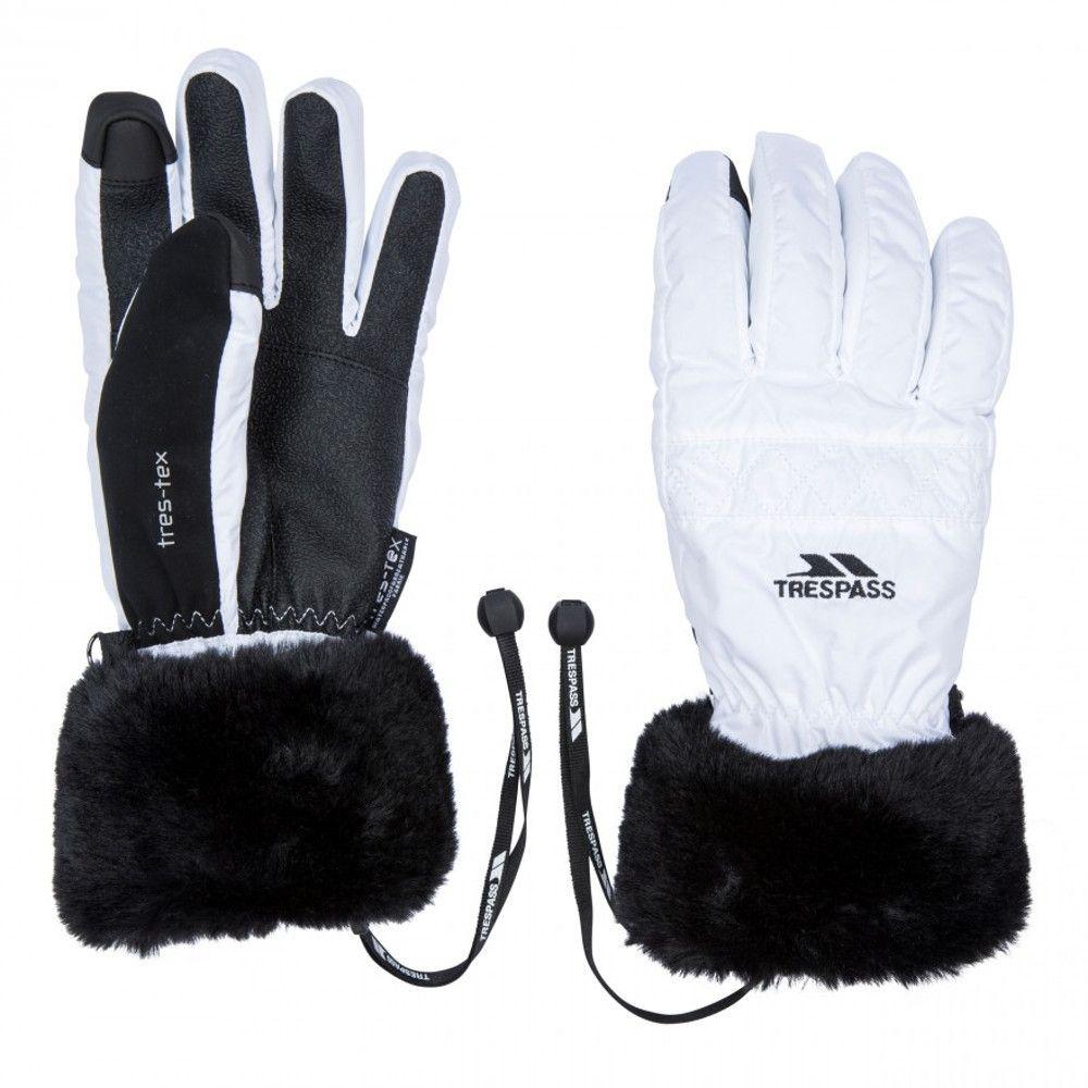 Trespass Womens Yanki Lightly Padded Winter Warm Gloves