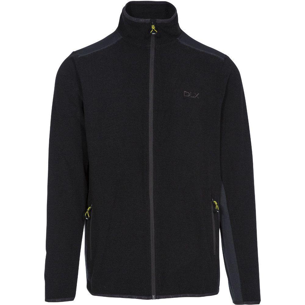 Trespass Mens Sturgess DLX Full Zip Contrast Fleece Jacket
