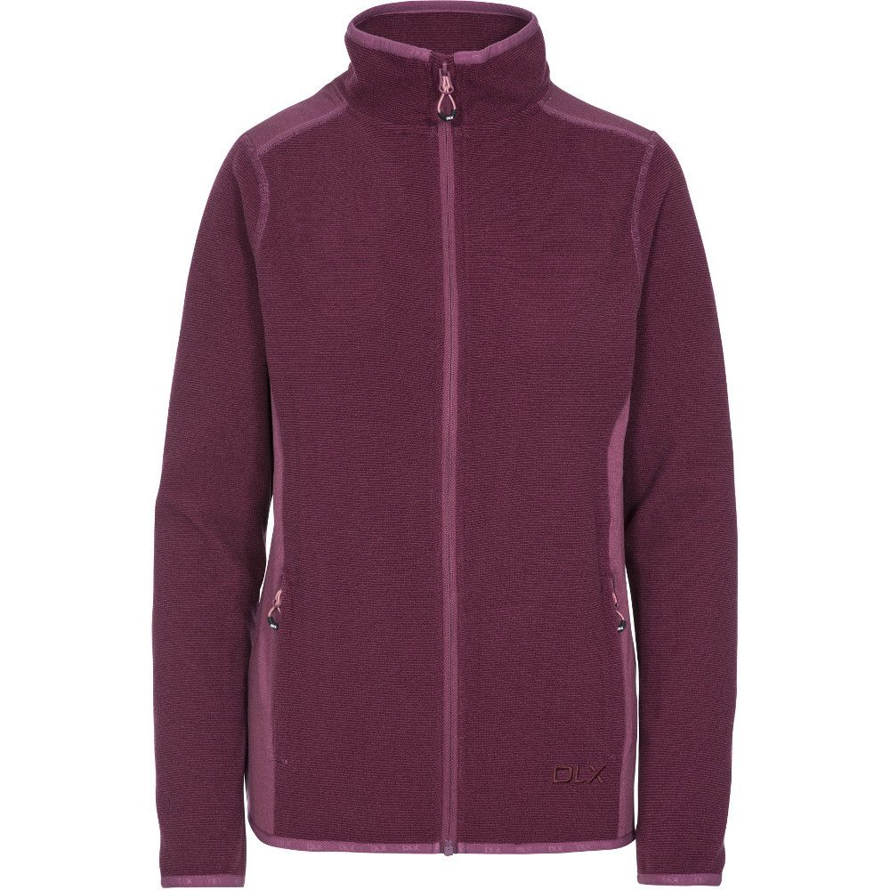 Trespass Womens Kelsay DLX Full Zip Fleece Jacket Coat