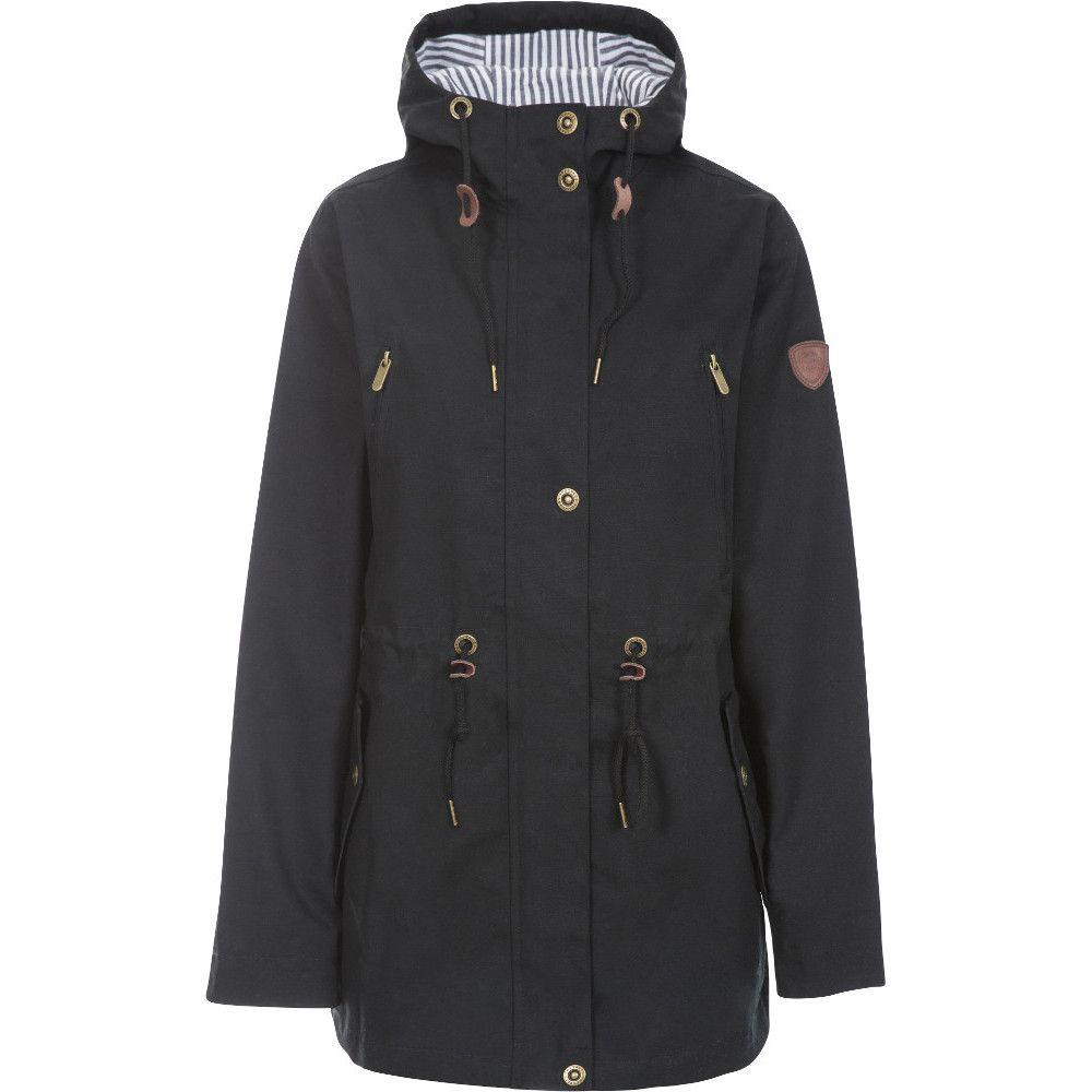 Trespass Womens Johanna Long Length Waterproof Parka Coat