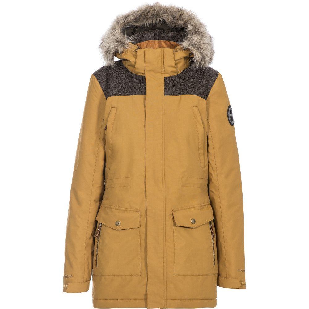 Trespass Womens Rosario DLX Insulated Waterproof Parka Coat