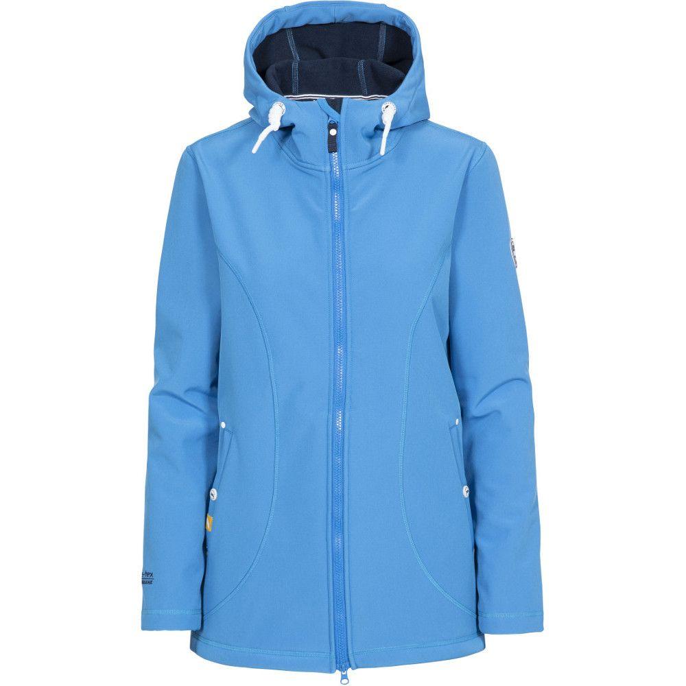 Trespass Womens Kinsley Waterproof Hooded Softshell Jacket