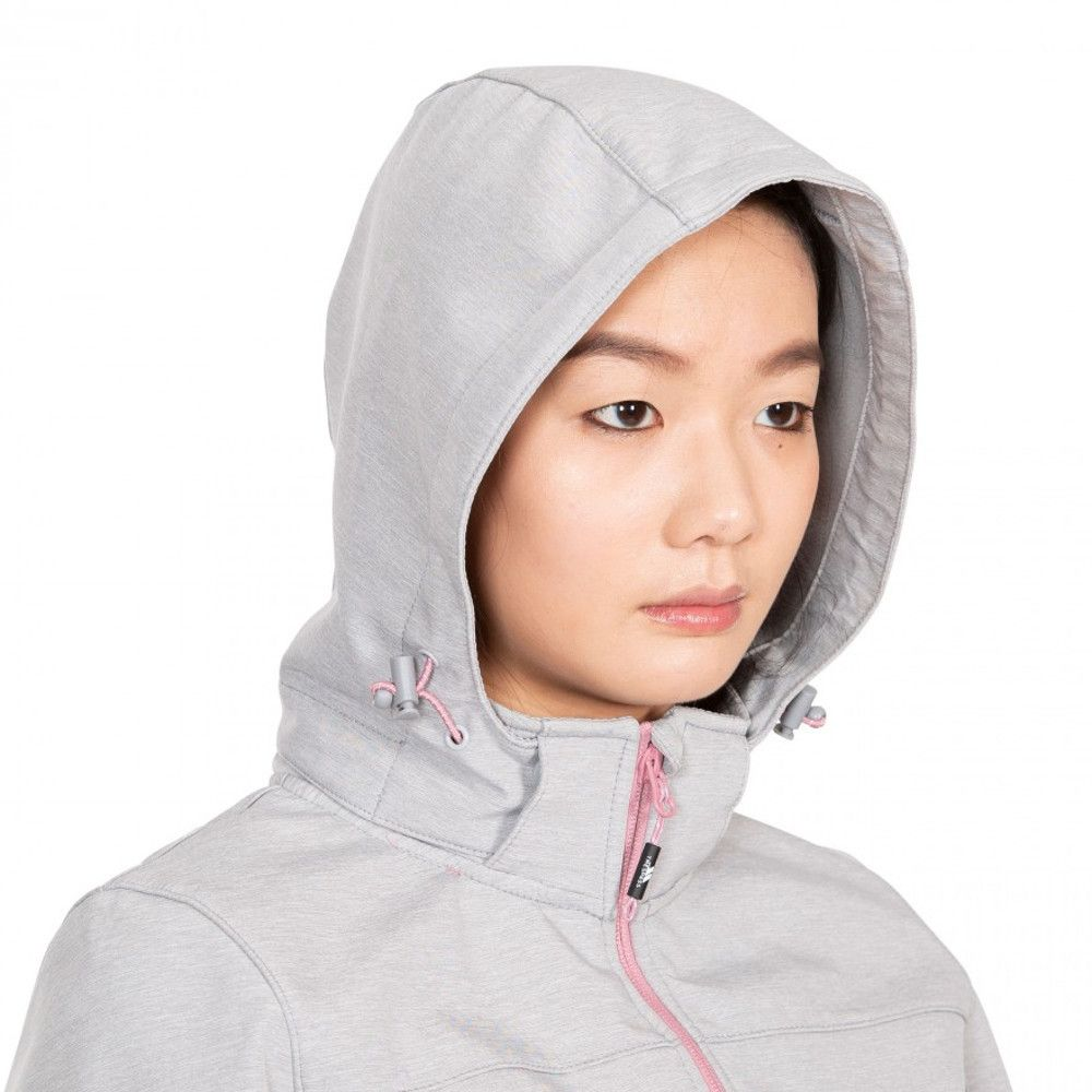Trespass Womens Leah Breathable Waterproof Softshell Coat