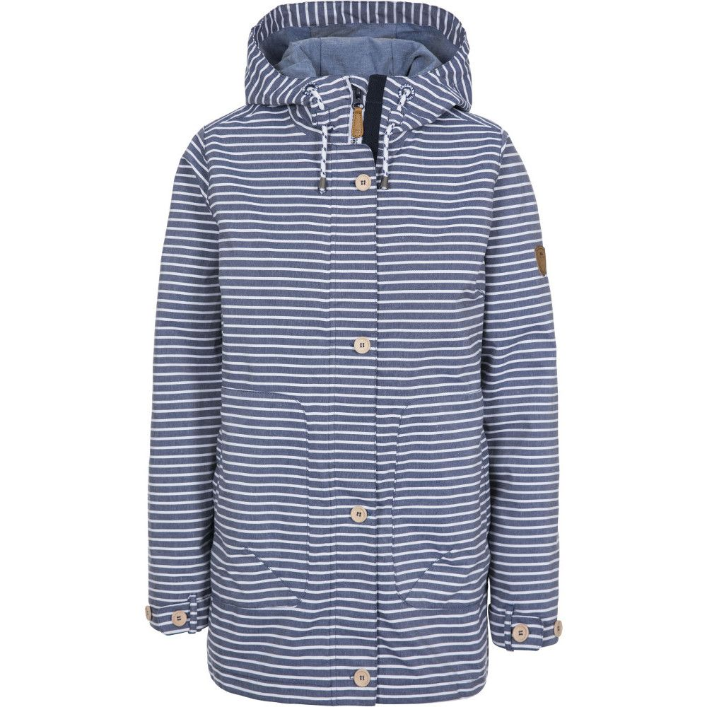 Trespass Womens Offshore Breathable Waterproof Hooded Coat