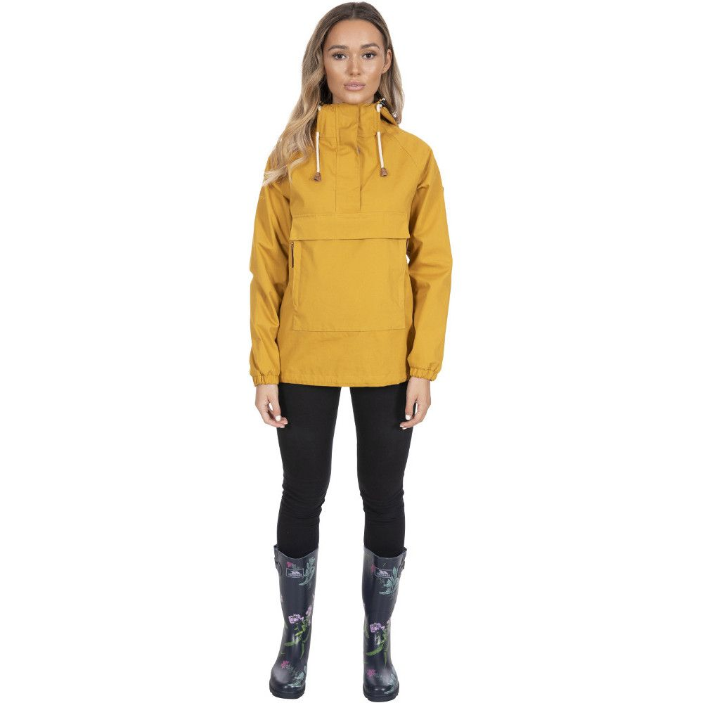 Trespass Womens Entirely Breathable Waterproof Hooded Coat