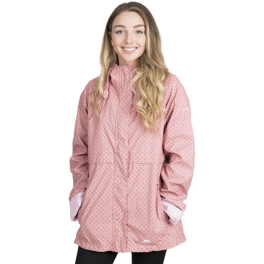 Trespass Womens Splosh Windproof Waterproof Hooded Rain Coat
