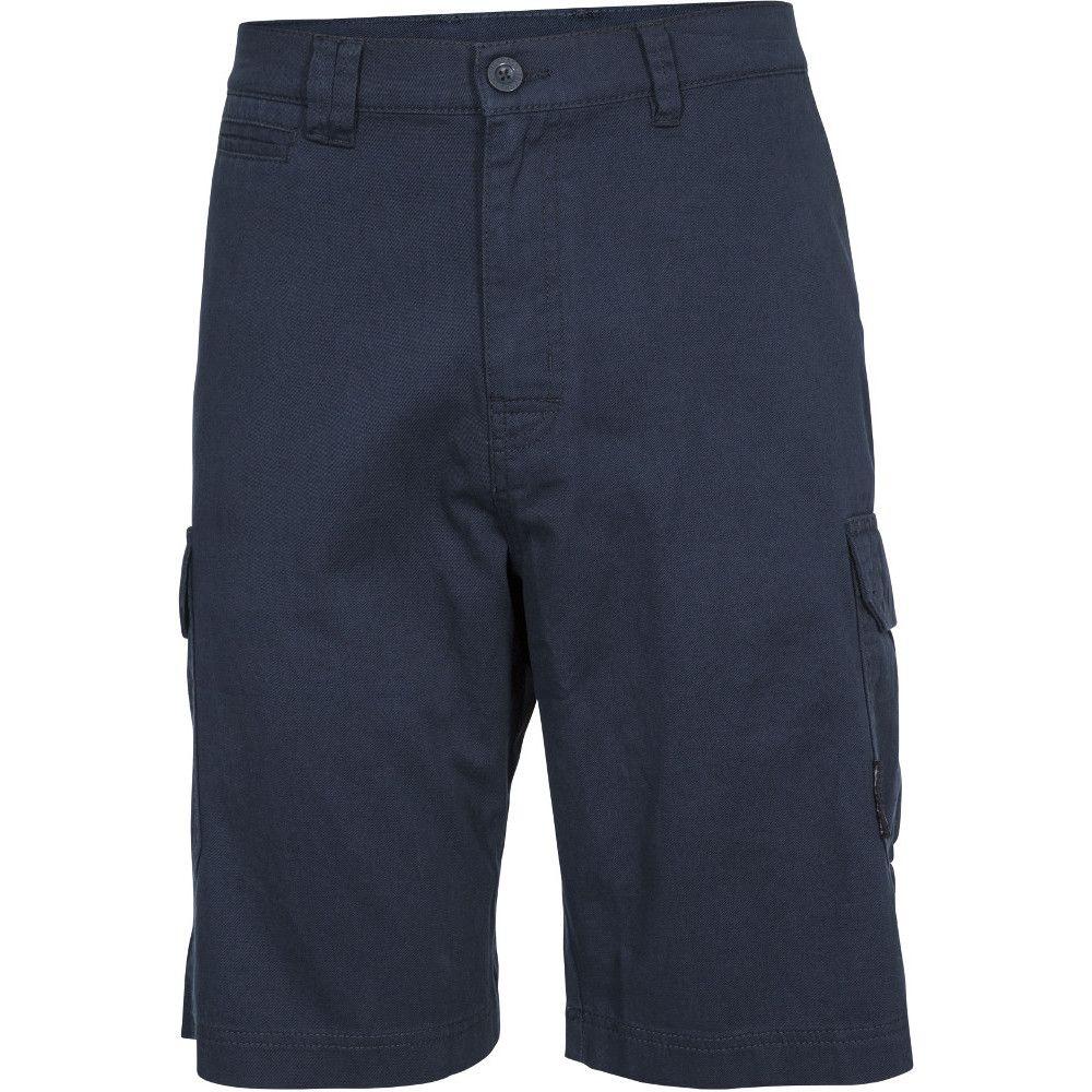 Trespass Mens Rawson Lightweight Breathable Cotton Shorts