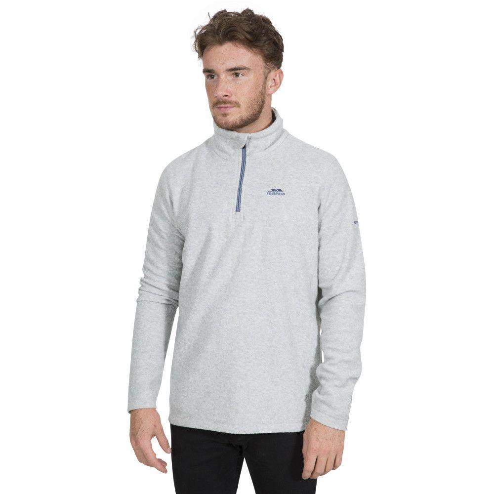 Trespass Mens Tandle Half Zip Fleece Jacket
