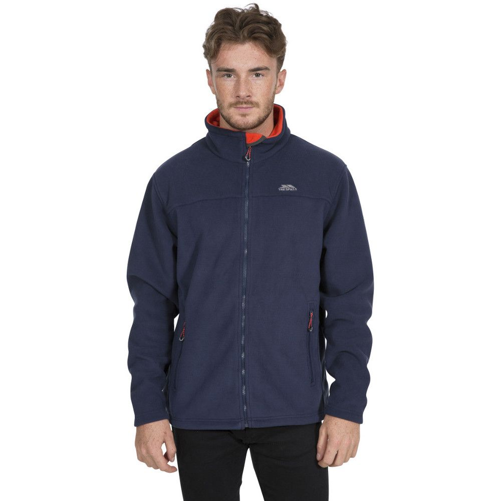 Trespass Mens Tankerville Full Zip Fleece Jacket
