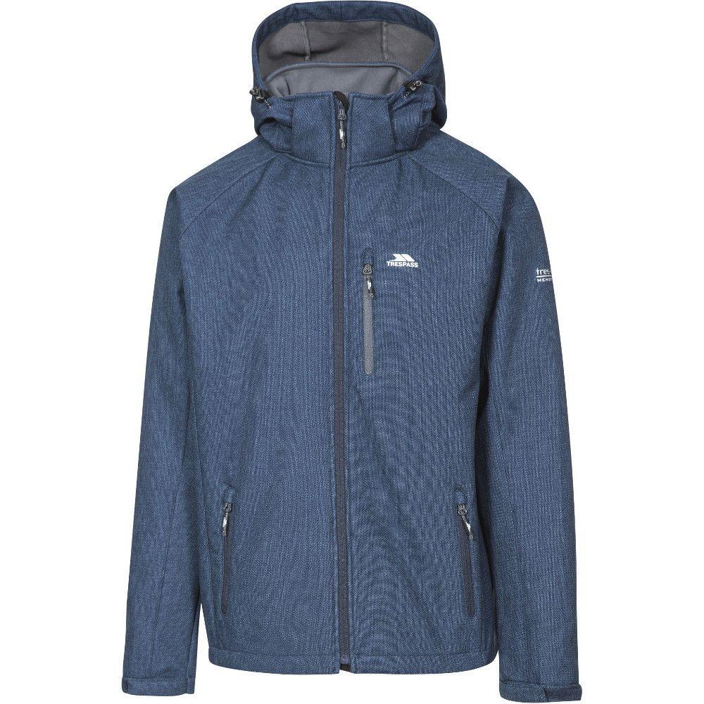 Trespass Mens Desmond Breathable Waterproof Softshell Jacket