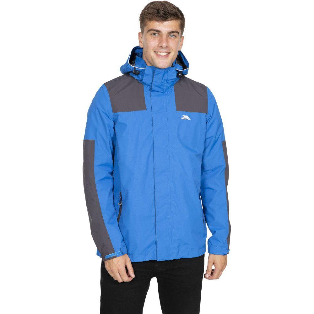 Trespass Mens Trolamul Full Zip Windproof Waterproof Jacket